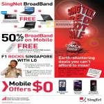 Singtel Singnet Broadband BBOM Mobile Offers